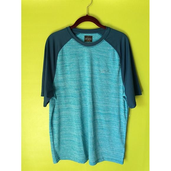 Greg Norman Other - Greg Norman Short Sleeve Round Henley T Shirt L